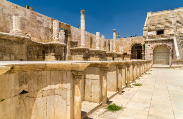 Details of Roman Theater in Amman