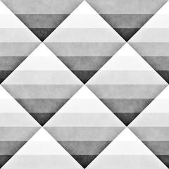 Seamless Gradient Rhombus Grid Pattern. Abstract Geometric Background Design