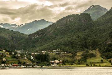 Mit dem Wohnmobil durch Norwegen - Geiranger Fjord