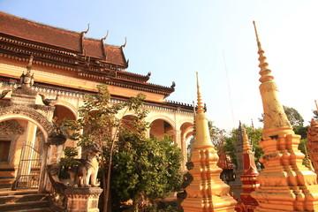 Wat Bo in Siem Reap, Cambodia