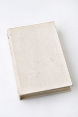 hard cover book isolated