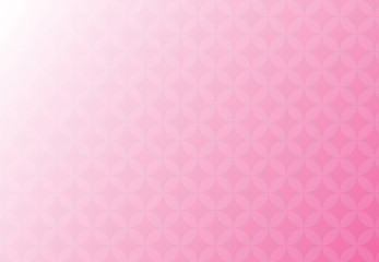 Abstract vector background pink and white business of overlap circles beautiful.