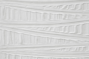 The texture of the paint is white. Background with stripes in retro style.