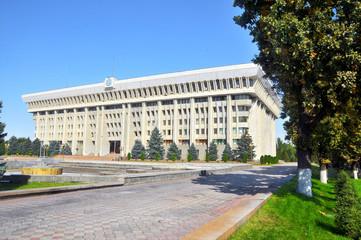 The White House -  the presidential office building in Bishkek, Kyrgyzstan