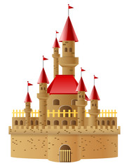 Illustration beautifull castles