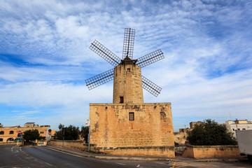 Windmill. Zurrieq, Malta