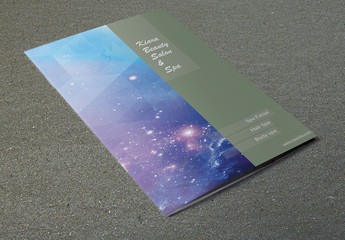 Green Bordered Brochure Layout 2