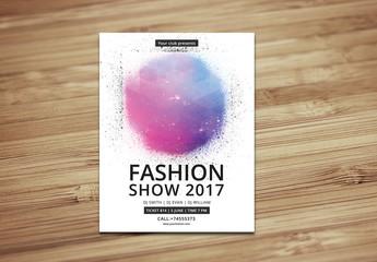 Fashion Show Flyer Layout 1