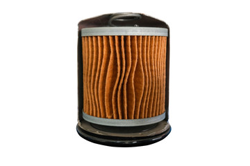 car filters isolated on white background with clipping path