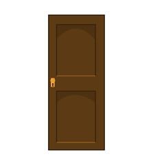 cartoon door vector symbol icon design.
