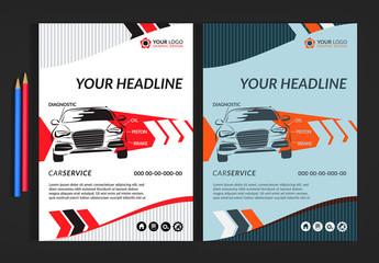 Automotive Services Flyer Layout 1