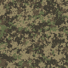 Abstract military or hunting digital camouflage background. Seamless pattern.