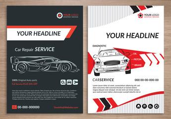 Automotive Services Flyer Layout 3