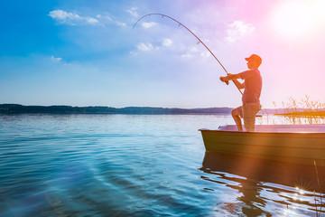 Printed kitchen splashbacks Fishing Fishing concepts.