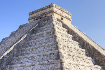 Maya pyramid at Chichen Itza