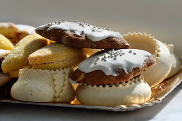 Tilicas, typical sweets of Sardinia