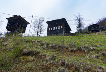 Old plateau houses
