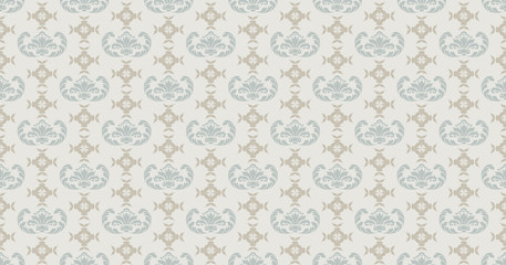 seamless pattern vector, retro