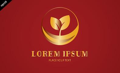 gold leaf seeds logo