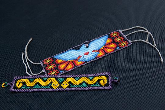Huichol Shamanic bracelets,