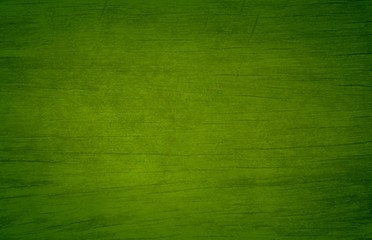 Green Wooden Background Wall mural