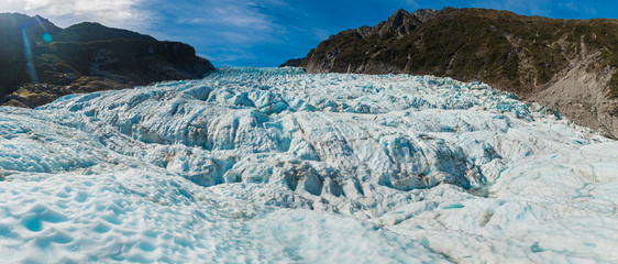 Photo sur Plexiglas Glaciers Fox glaciers Southern island, New Zealand