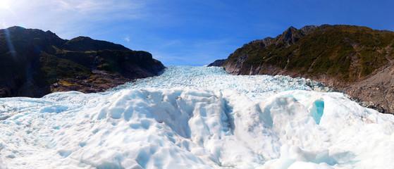 Spoed Fotobehang Gletsjers Fox glaciers Southern island, New Zealand