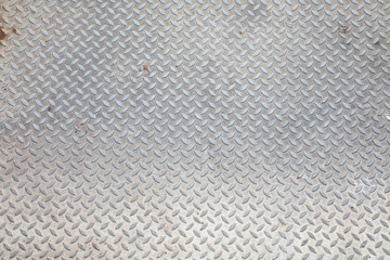 Background of metal diamond pattern plate
