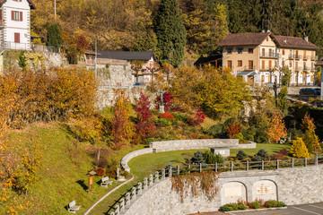 Il Santuario della Madonna del Sangue di Re, Vigezzo, Verbania, Ossola, Piemonte, Italia