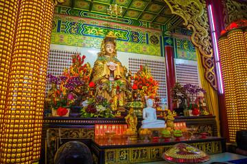 Goddess Thean Hou Statue. MALAYSIA