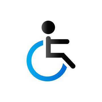 Duo Tone Icon - Disabled access