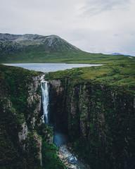 Surreal Scottish landscape