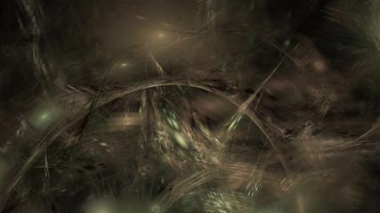 Leuchten im Traum - Erdtöne