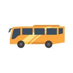 Flat icon - Bus