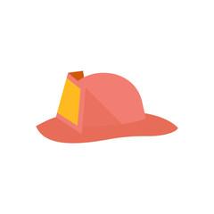 Flat icon - Fireman hat