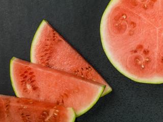 Freshly Cut Baby Water Melon