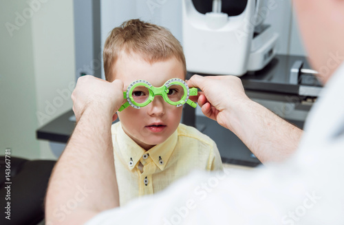 9c172726f2 Trial frame. Glasses prescription for a child. Child s hypermetropy. Child s  shortsightedness. Child s myopia. Child s longsightedness.