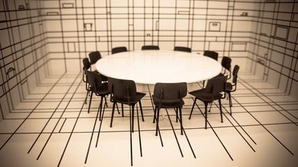 Rount table