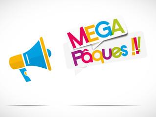 mégaphone : mega pâques !!!!!