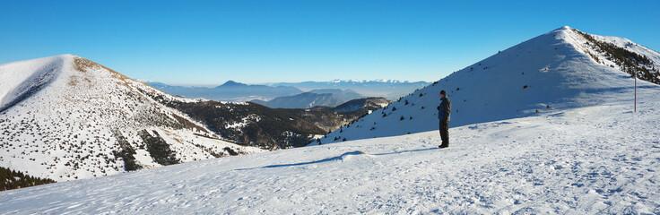 Slovak Landscape in Winter
