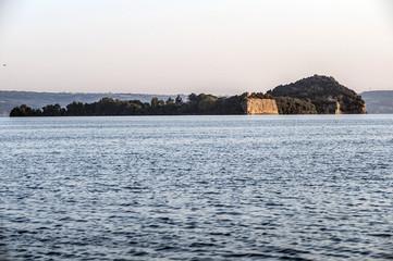 Isola Bisentina Lago di Bolsena