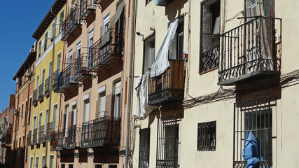 Immeubles à Madrid