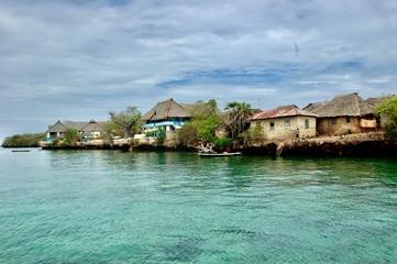 Wasini island in Kenya