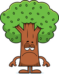 Sad Cartoon Tree