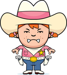 Angry Little Cowgirl