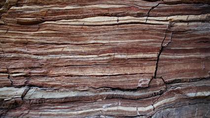 Detailierte Marmor Schichten in Canyon / Hintergrund Bild