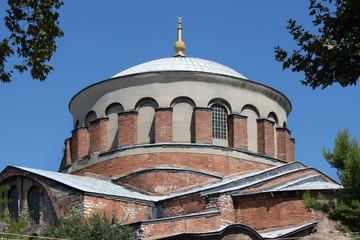 Kuppel der byzantinischen Kirche St. Irene in Istanbul, Türkei