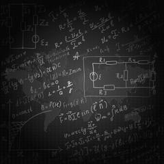 Mathematical equations and formulas