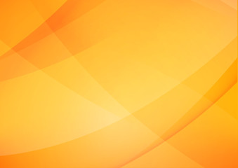Abstract Yellow and orange warm tone background with simply curve lighting element vector eps10 002 Wall mural