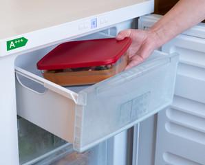Energiesparender Gefrierschrank mit der Ernergieeffizienzklasse A+++